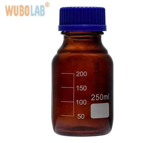 Bottles,-Media-lab,-Amber-Glass,-Screw-Cap
